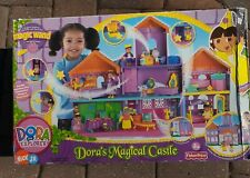 Vintage Dora The Explorer Magical Castle