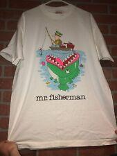 Vintage 1989 Jim Benton Mr. Fisherman Tee