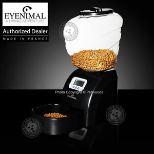 Eyenimal Electronic Pet Feeder Dog/Cat Programmable Holds 11 LB Dry Food Kibble