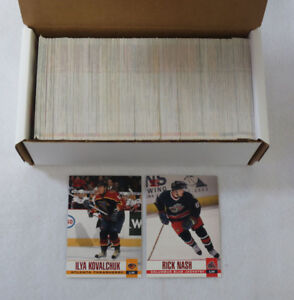 2003-04 Pacific Hockey Red Parallel Set (1-350)