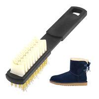 Suede Nubuck Cleaner Protector Block Brush Eraser Bar Black Shoe Brushes