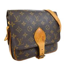 LOUIS VUITTON CARTOUCHIERE MM SHOULDER BAG PURSE MONOGRAM M51253 uri 30638