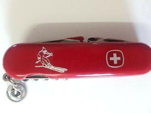 Rare Original Wenger Skier Swiss Army Knife