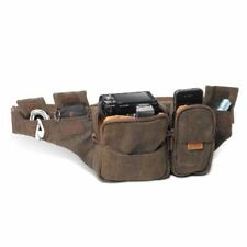 NEW NATIONAL GEOGRAPHIC body bag Africa Collection 0.9L Brown canvas NG A4470