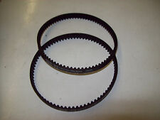 2 NEW Genuine Hoover Savvy Geared Vacuum Cleaner Belts 38528-049 - Made In USA