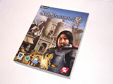 STRONGHOLD II complete big box pc videogame 2