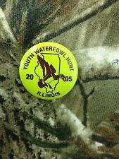 Illinois deer pin 2005 Youth Waterfowl Hunt