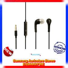 Auricolari Nero EHS64AVF cuffie originali per SAMSUNG Galaxy Ace S5830I