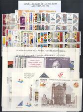 ESPAÑA - BLOQUE DE CUATRO - AÑO 1992 COMPLETO ** MNH - LUJO