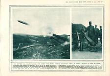 1915 Land torpille utilisé par les troupes Russes illustration Champ Cuisine camp bouilloires