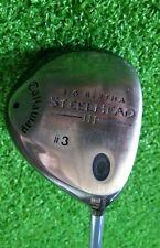 Womens Callaway Big Bertha Steelhead III 3 Wood Ladies Flex RH Golf Club