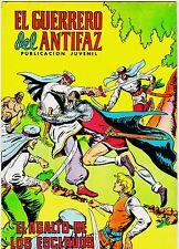 EL GUERRERO DEL ANTIFAZ (Reedición color) nº: 226.  Valenciana, 1972-1978.