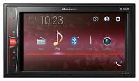 Pioneer MVH-A210BT Doppel-DIN MP3-Autoradio Bluetooth USB iPod AUX-IN