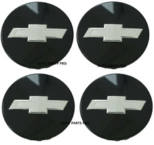 SET 4 Camaro Colorado Traverse Black center caps wheel caps 23115617