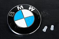 Genuine BMW E39 E46 Compact Trunk Emblem with 2 Grommets OEM 51148203864