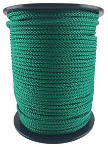 Green Bondage Rope, Soft To Touch Rope - Select Your Diameter and Lot Length