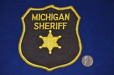 Dealer Lot Of 12 Michigan Sheriff Police Patches