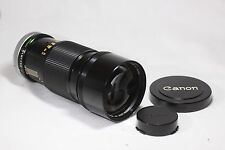 Canon FD 200mm F/2.8 S.S.C. MF Lens Made In Japan