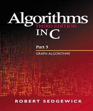 Algorithms in C, Part 5 Graph Algorithms 3rd Edition - English Robert Sedgewick