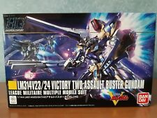 HG 189 LM314V23/24 Victory Two Assault Buster Gundam Model Kit Bandai 1/144