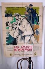 Lge Vintage 1951 French Cinema Film Poster Les Amants De Brasmort