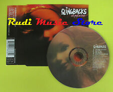 CD Singolo SLINGBACKS All pop, no star 1996 uk VIRGIN no lp mc dvd (S14)