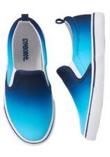 NWT Gymboree Shipmates Kid Boys Blue Slip On Shoes Size 10