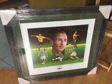 Henrik Larsson Celtic signed display
