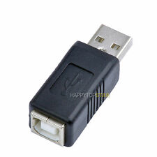 USB Standard 2.0 1.1 A Male to USB B Female Printer Scanner Adapter Converter PC