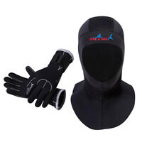 Diving Hood Thermal Wrap Scuba Dive Sailing Wetsuit Gloves Warm Underwater
