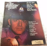 1968 Ghetto Cop Black Panthers Preach Violence    Saturday Evening Post Magazine