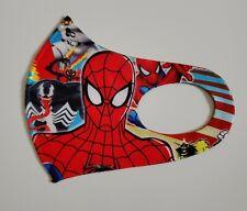 2 pack Kids Face Mask Spiderman Reusable Washable