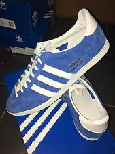 Adidas Gazelle OG Blu CW UK 10 2012 Deadstock Indoor 70 S 80 S Classic 90 Terrace