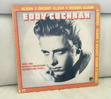 EDDIE COCHRAN. 2 x 33 TRS. 33 TRS MADE IN FRANCE 1977. ERREUR TITRES POCHETTE.