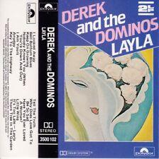 DEREK and THE DOMINOS Layla / Eric Clapton- Cassette - Tape   SirH70