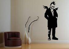 Banksy Punk Angel / Dark Angel Wall Sticker 60cm x 150cm, Facing Right