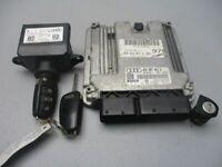 AUDI A6 AVANT (4F5, C6) 3.0 TDI BMK Steuergerät Motor 4F0910401J Schließsatz