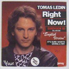 Tomas Ledin 45 Tours Eurovision 1980