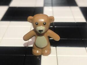 Lego Teddy Bear Minifigure X1 / Land Animal / Pet / Zoo / Wild / Spare / Friends