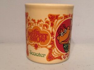 1979 The Muppet Show Scooter Kiln Kraft Jim Henson Vintage Coffee Tea Mug Cup