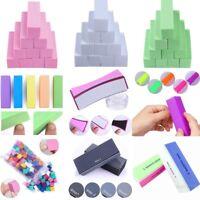2/5/10Pcs Nail Buffer File Block Pedicure Manicure Sanding Polish Buffing Tools
