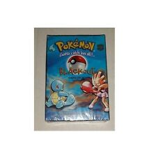 Pokemon Base Set Blackout Starter Theme Deck Box! Factory Sealed! Ultra Rare!