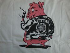 Poker Run Veterans Of Foreign Wars Post 8558 T Shirt Men's Size L