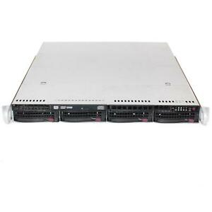 SUPERMICRO CSE-815TQ-R700WB X9DRW-3F Dual LGA2011 E5-2600 V2 Server Barebones 1U
