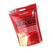 MuscleMeds Carnivor Mass Anabolic Beef Protein Gainer Vanilla Caramel 10 Pounds