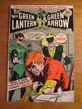 Wow! GREEN LANTERN/GREEN ARROW #85, *Iconic Adams Drug Key!* (NM-) Gorgeous!