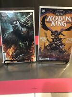 DARK NIGHTS: DEATH METAL ROBIN KING 1 & 1:25 VARIANT NM BATMAN