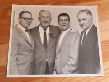 1969 DICK O'CONNELL - JOHNNY PESKY - BOBBY DOERR Photo BOSTON RED SOX