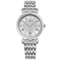 Alexander Swiss Made Stainless Bracelet Ladies Quartz Sapphire Crystal Watch