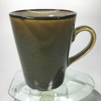 """Home Trends Coffee Mug Clay In Motion Rave Strips Ceramic 4""""Tall Tea Cup C27"""